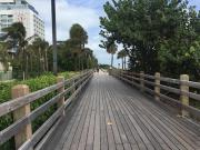 La promenade le long de la mer