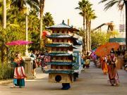 MGM studios : la parade de Mulan (2)