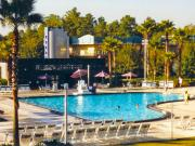 Disney All Stars Music Resort : la piscine en forme de piano