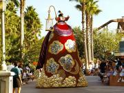 MGM studios : la parade de Mulan (1)